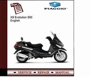 Piaggio X9 Evolution 500 Service Manual