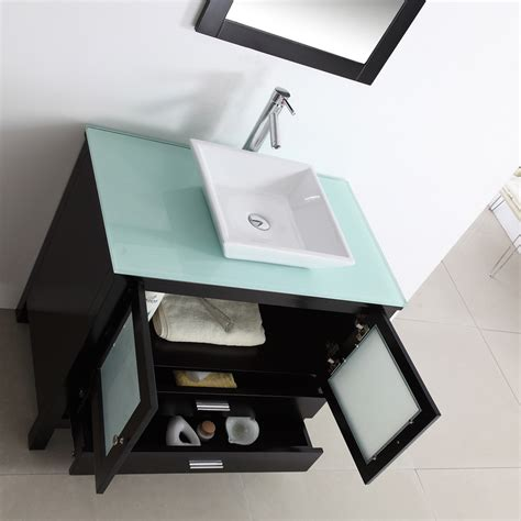 Best Sink Material For Bathroom by Bathroom Vanities With Tops Choosing The Right Countertop