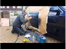 Mobile Paint Repair Company BMW SMART repair door vandal