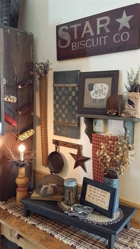 primitive country kitchen decor best 20 primitive country decorating ideas on 4415