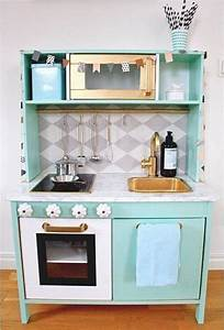 Ikea Duktig Rückwand : ikea duktig play kitchen makeover mint kid rooms pinterest plays kitchens and playrooms ~ Frokenaadalensverden.com Haus und Dekorationen