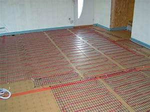 Plancher Chauffant Electrique : pose du plancher chauffant ma maison en bois de a z ~ Melissatoandfro.com Idées de Décoration
