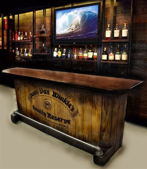 Bars For Your Home by Sold Out Home Bar Custom Built Rustic Whiskey Pub