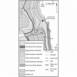 41  Geological Map Of Bearreraig Bay  Trotternish  Isle Of