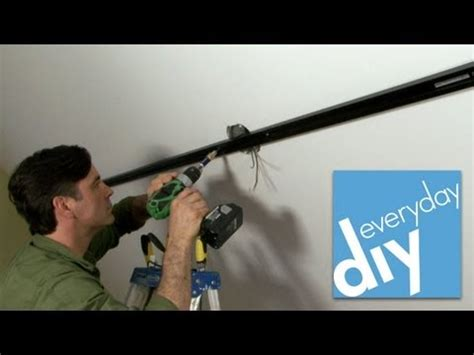how to install track lighting youtube installing track lighting buildipedia diy youtube