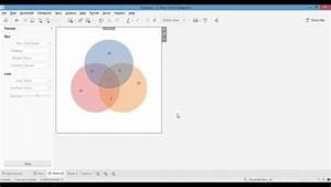Tableau Mini Tutorial  3-way Venn Diagram Version 1