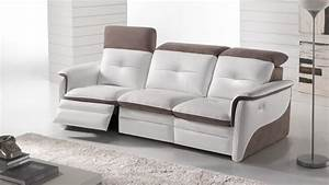 amalia home cinema relaxation electrique personnalisable With tapis persan avec canape cuir home cinema