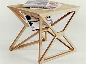 Petite Table En Bois : 57 id es en photos o trouver votre petite table d 39 appoint ~ Teatrodelosmanantiales.com Idées de Décoration