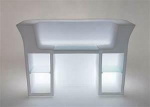 Beleuchtete Bar Theke : my desk beleuchtete theke von slidedesign von ~ Sanjose-hotels-ca.com Haus und Dekorationen