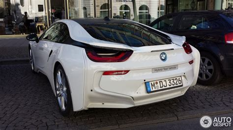 bmw full form in german crystal white bmw i8 spotted in germany autoevolution