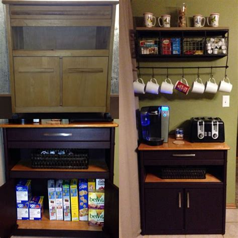 1000  ideas about Microwave Cart on Pinterest   Microwave
