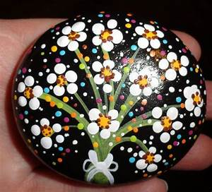 305 best Painted Rocks Flowers & Trees & Such images on ...