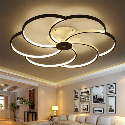 white led ceiling light fixture led ring lustre light