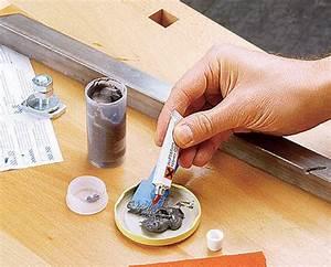 Epoxidharz Holz Kleben : risse in metall ausf llen ~ Michelbontemps.com Haus und Dekorationen