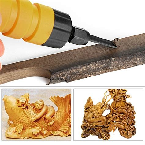 electric chisel carving tool wood carving machine