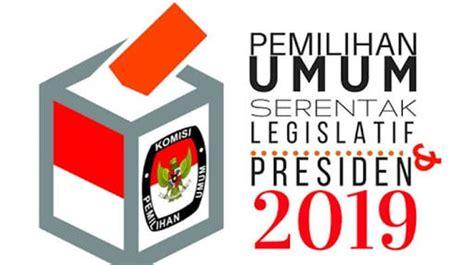 Pilpres 2019: Surat Suara Pemilu 2019 Vector