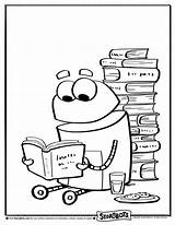 Storybots Coloring Reading Printable Sheets Sheet Activity Ask Worksheets Beep Colorear Bots Story Preschool Colour Kolorowanki Letras Birthday Colorir Worksheet sketch template