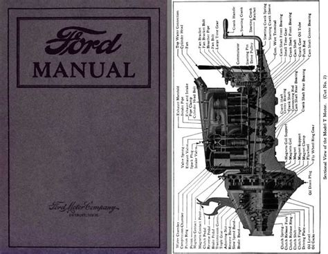 regress press ford manual  model   owners