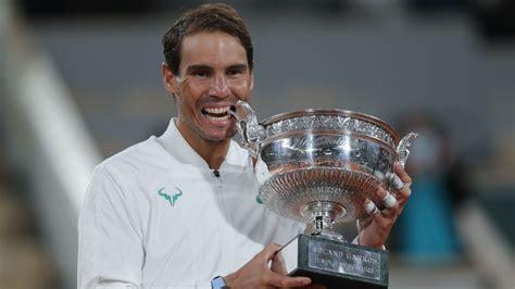 Ruthless Rafael Nadal celebrates record-equalling 20th ...