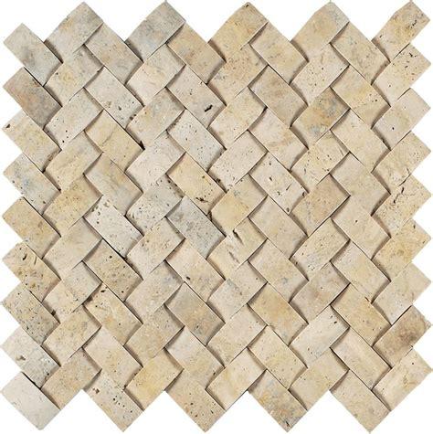 d b tile light gold herringbone travertine mosaic tile arizona