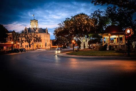 downtown new braunfels lights picture of new