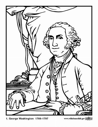 Worksheets Studies Social Presidents Printouts Coloring Pages