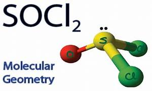 SOCl2 Molecular Geometry / Shape and Bond Angles - YouTube
