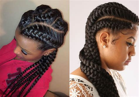 amazing african goddess braids hairstyles hairdromecom