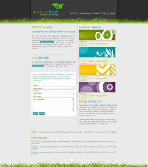 simple css templates simple css template by cr8iv on deviantart
