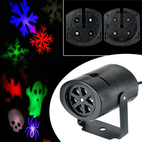ushio projector l decoration outdoor moving led snowflake laser light projector