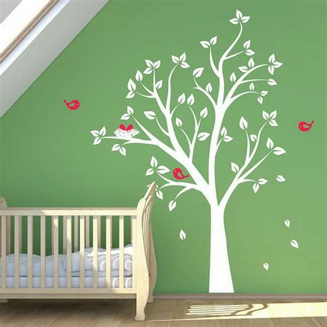chambre bébé arbre decoration chambre bebe arbre