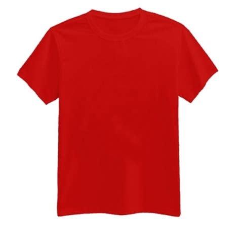 kaos polos warna merah cabe oblong merah cabe lengan