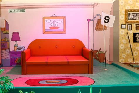 Play Golf In The Simpsons Living Room