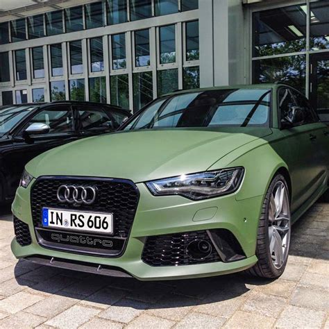 matte green rs6 avant matte www imgkid com the image kid has it