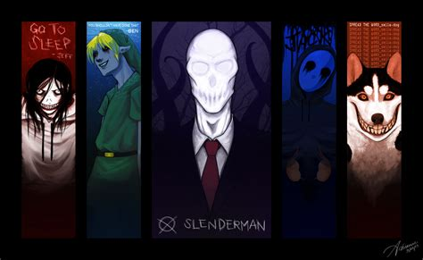 Creepypasta Anime Wallpaper - creepypasta wallpaper by suchanartist13 on deviantart