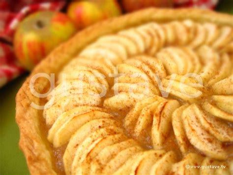 tarte aux pommes 224 la compote et 224 la cannelle la recette