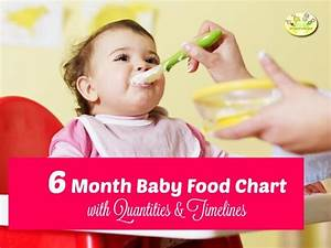 6 Month Baby Food Chart Indian Food Chart For 6 Months