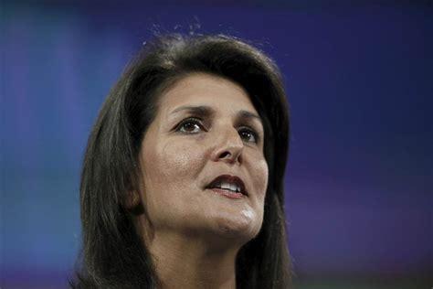 South Carolina Gov. Nikki Haley Endorses Rubio