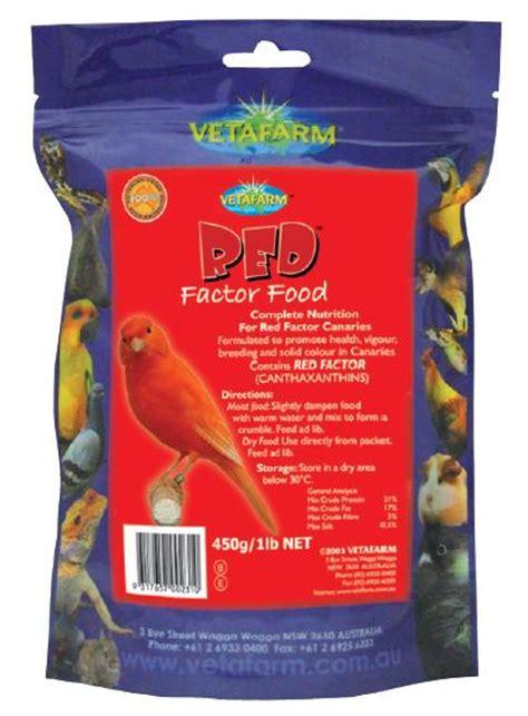 vetafarm red factor food