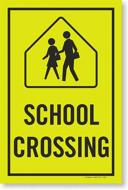 Crossing Sign Signs Xing Student Graphic