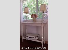 4 the love of wood HOW TO MAKE A SOFA TABLE from a gate