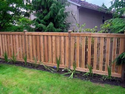 Backyard Fence Options by Best 25 Fencing Materials Ideas On House