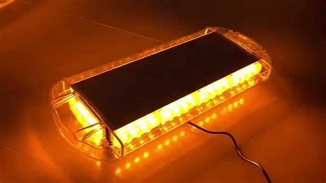 Strobe Light Bar For Trucks by New Led Roof 40 Led Solid Amber Emergency Plow Tow Truck
