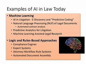 Examples of AI in Law