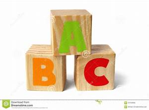wooden blocks with abc letters royalty free stock image With blocks with letters on them