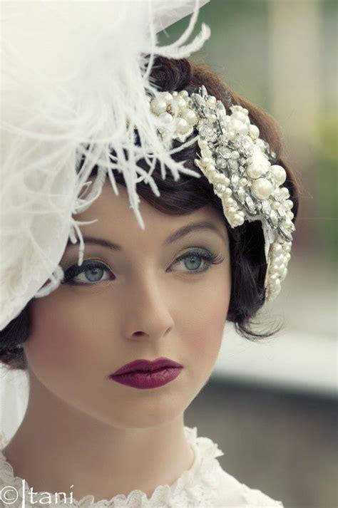 A Vintage 1920s Shoot Asian Wedding Ideas Makeup