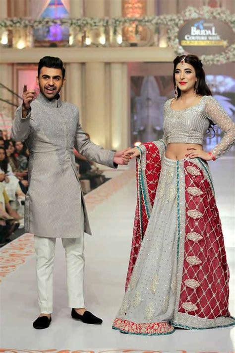pakistani bride groom dresses combination  fashioneven
