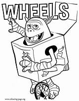 Coloring Pages Boxtrolls Colouring Trolls Box Troll Printable Wheels Sheet Unicycle Boxtroll Sheets Beaver Scouts He Rides Fun Film Fish sketch template