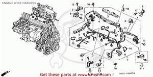 Honda Odyssey 1995  S  5dr Lx 6 Seats  Ka  Engine Wire