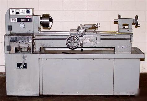 engine lathe south bend fourteen